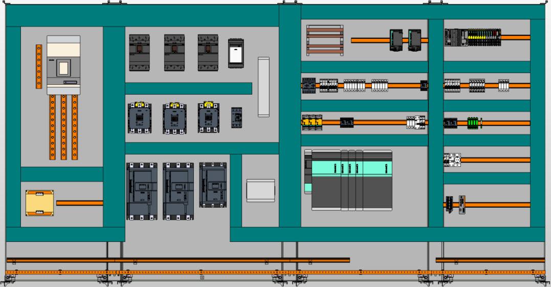 Progettazione Eplan Propanel 3D