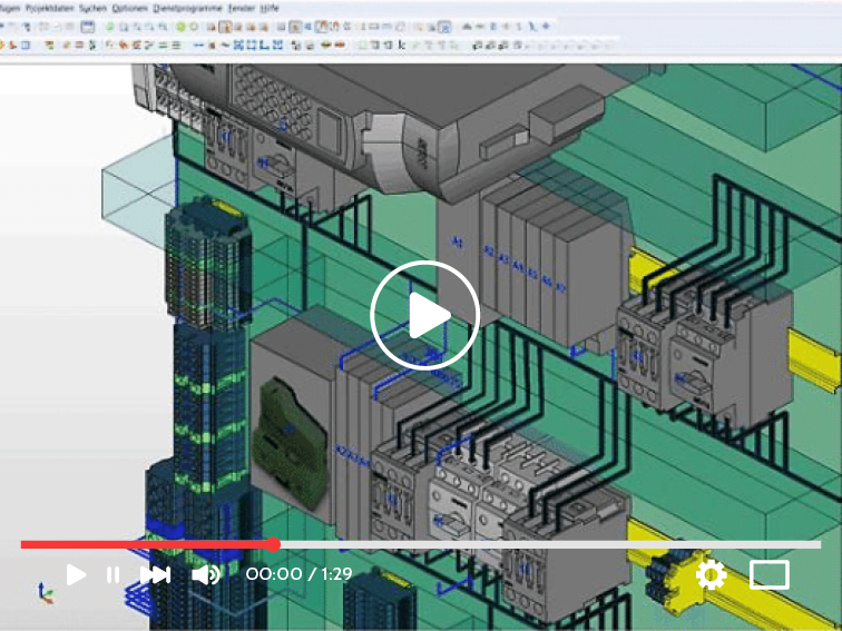 EPLAN Propanel 3D design