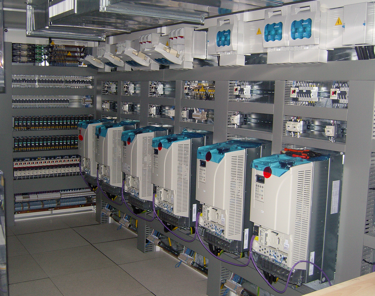 Electrical Cabinets in Containers